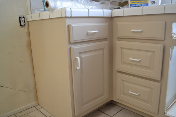 paint it yourself how to refinish old cabinets imagine
