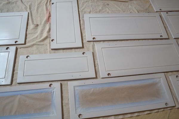 Paint it yourself - How to refinish old cabinets - Imagine ...